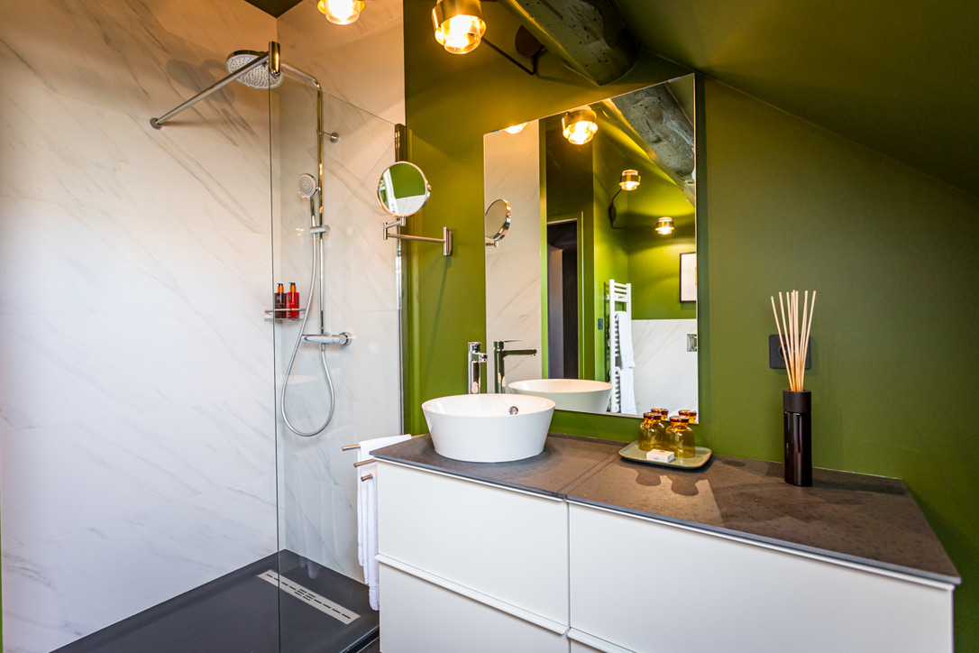 Le Globe- Suite-salle de bain