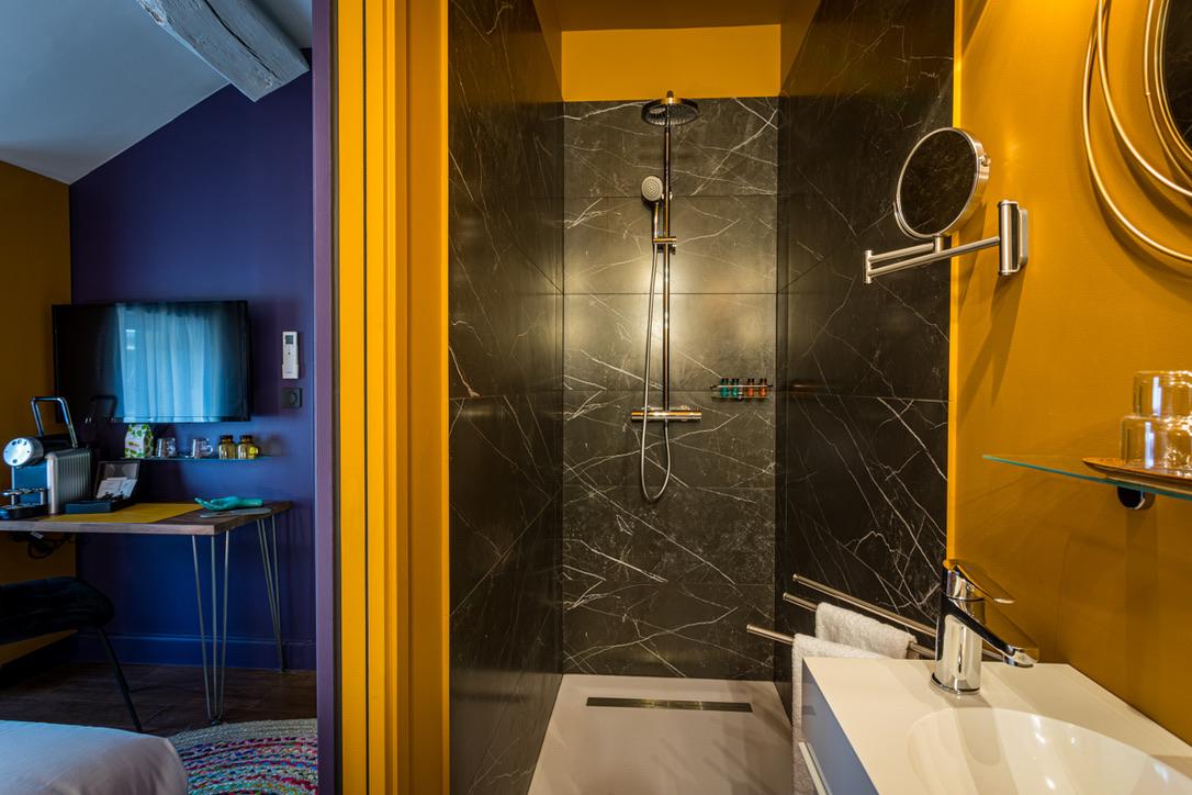 Le Globe- chambre classique- salle de bain